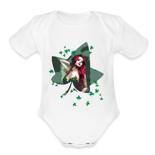 PI - Organic Short Sleeve Baby Bodysuit