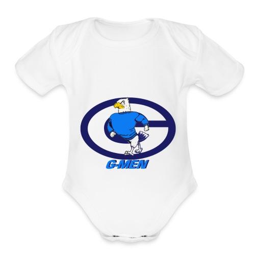 GHOSTDARKW - Organic Short Sleeve Baby Bodysuit