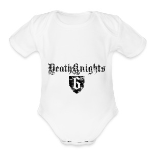 Deathknight6Shieldshirt - Short Sleeve Baby Bodysuit