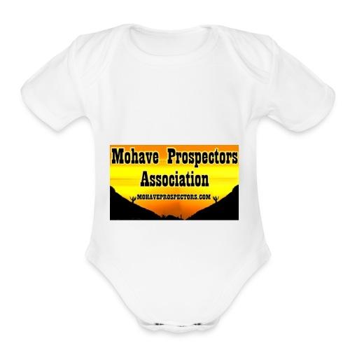 MPA Nametag - Organic Short Sleeve Baby Bodysuit