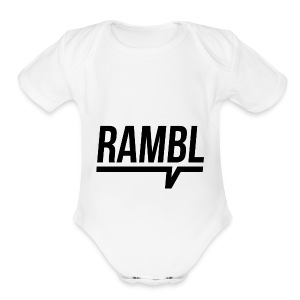 RAMBL - Short Sleeve Baby Bodysuit