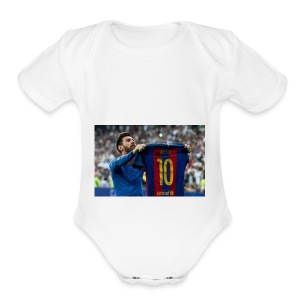 Messiabrizshop.com - Short Sleeve Baby Bodysuit