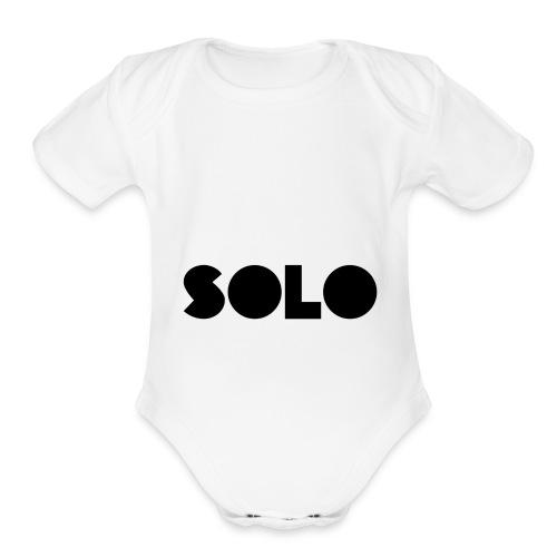 SOLO - Organic Short Sleeve Baby Bodysuit