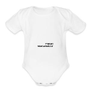 Niagarian Hoodie - Short Sleeve Baby Bodysuit