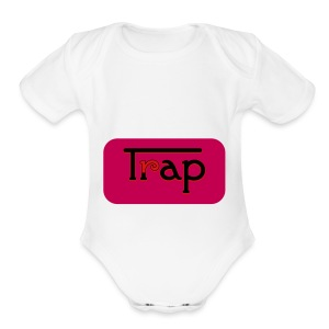 Trap_trappy women - Short Sleeve Baby Bodysuit