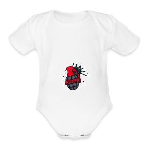 Intensive - Short Sleeve Baby Bodysuit