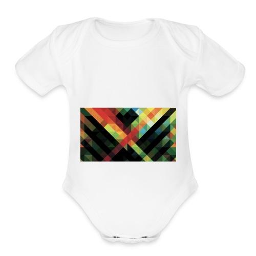 Cool design - Organic Short Sleeve Baby Bodysuit