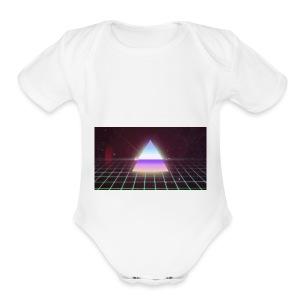 80s Retro - Short Sleeve Baby Bodysuit