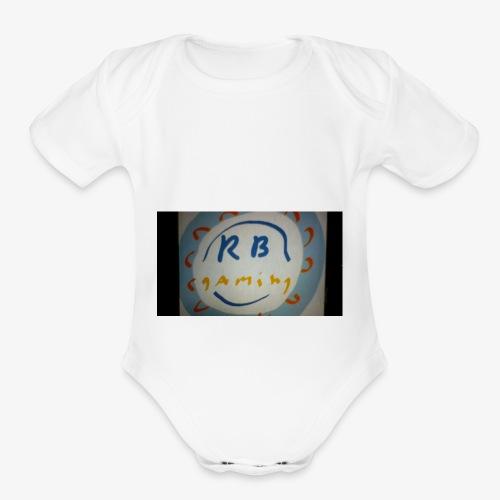WIN 20171121 18 29 20 Pro - Organic Short Sleeve Baby Bodysuit