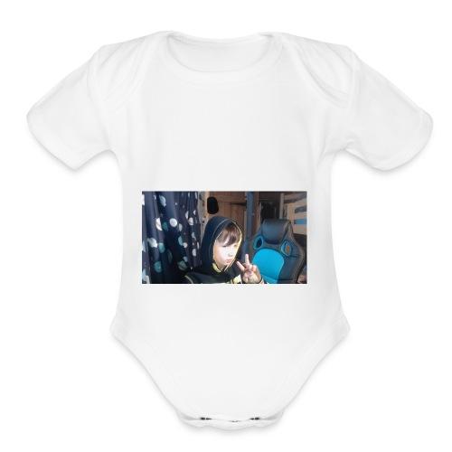 DANIAL - Organic Short Sleeve Baby Bodysuit