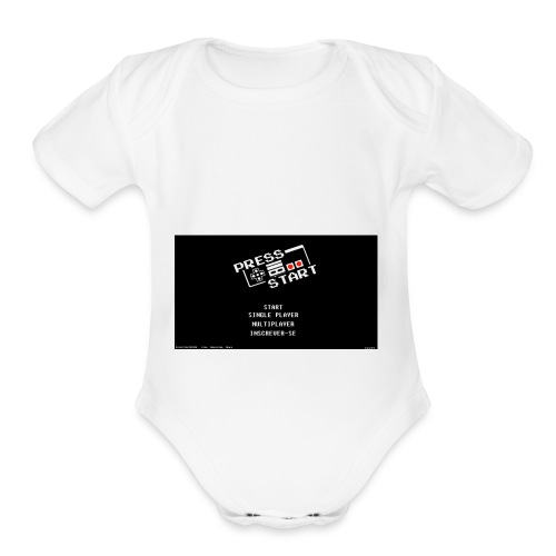 BenlyGaming - Organic Short Sleeve Baby Bodysuit