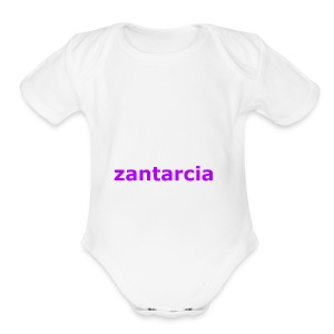 zantarcian merch - Short Sleeve Baby Bodysuit