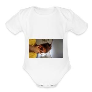 Famous Amos - Short Sleeve Baby Bodysuit