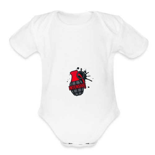Intensive - Organic Short Sleeve Baby Bodysuit