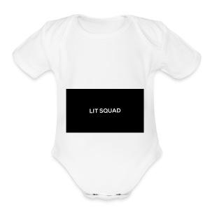 www.VenamousTV/litsquad/link/bio/merchandise.com - Short Sleeve Baby Bodysuit