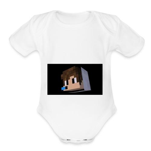 TGPTV - Organic Short Sleeve Baby Bodysuit