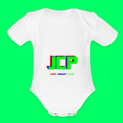 James Christian Plays! Original Set - Organic Short Sleeve Baby Bodysuit