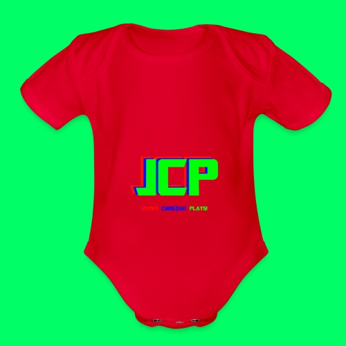 James Christian Plays! Original Set - Organic Short Sleeve Baby Bodysuit
