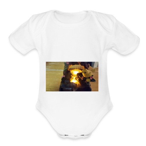 20180107 181422 - Organic Short Sleeve Baby Bodysuit