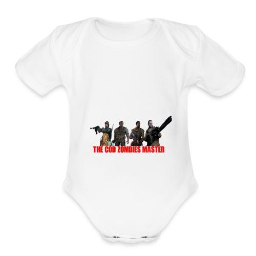 CodZombiesMasterMerch - Organic Short Sleeve Baby Bodysuit