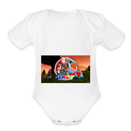 The Fort Army - Organic Short Sleeve Baby Bodysuit