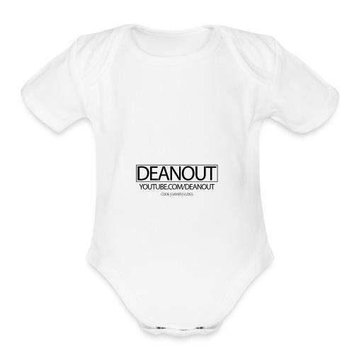 Deanout Branding - Organic Short Sleeve Baby Bodysuit