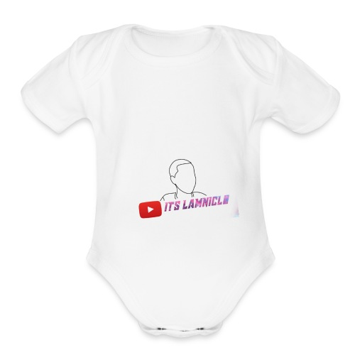 its meh TO Lam lol - Organic Short Sleeve Baby Bodysuit