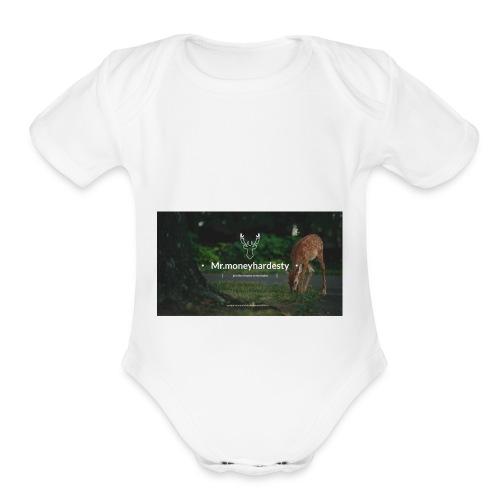 youtube channel art - Organic Short Sleeve Baby Bodysuit