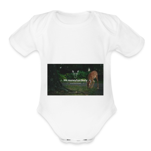 youtube channel art - Organic Short Sleeve Baby Bodysuit