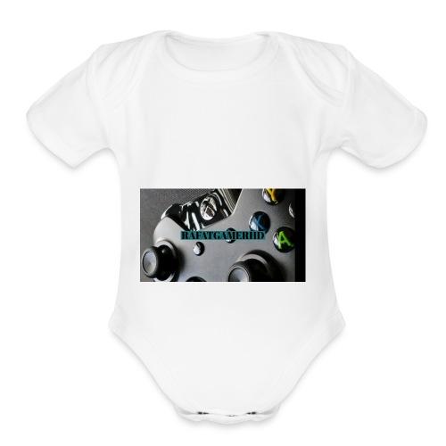 Gaming HD - Organic Short Sleeve Baby Bodysuit