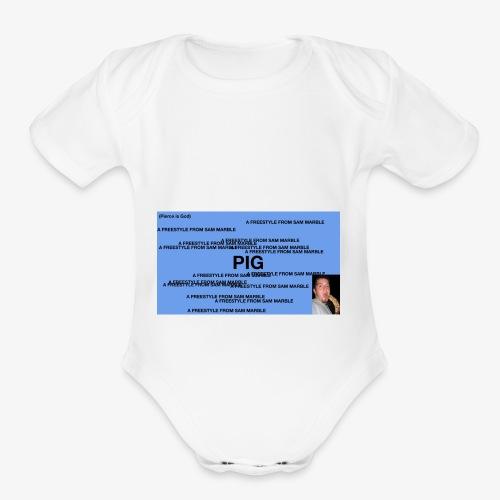 PIG Apparel - Organic Short Sleeve Baby Bodysuit