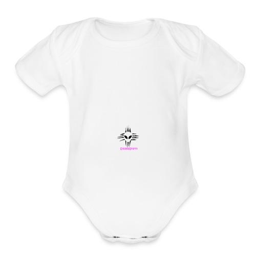 ChromoSpuffy Merch - Organic Short Sleeve Baby Bodysuit