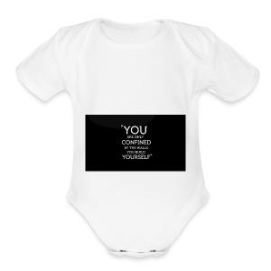 MOTIVATION - Short Sleeve Baby Bodysuit