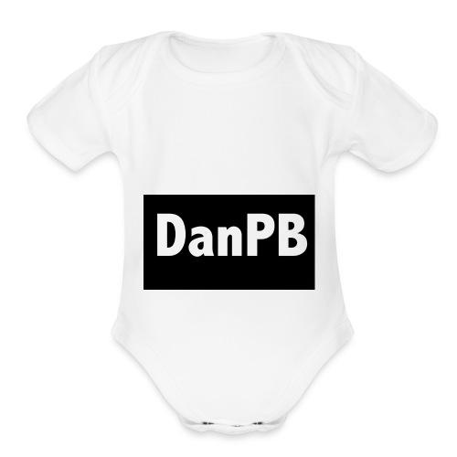 DanPB - Organic Short Sleeve Baby Bodysuit