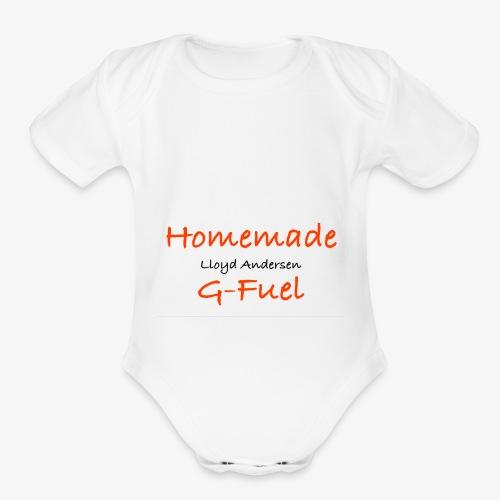 Homemade G-Fuel Lloyd Andersen - Organic Short Sleeve Baby Bodysuit