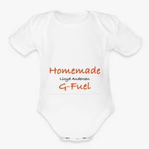 Homemade G-Fuel Lloyd Andersen - Short Sleeve Baby Bodysuit