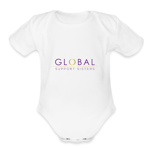 Global Support Sisters - Organic Short Sleeve Baby Bodysuit
