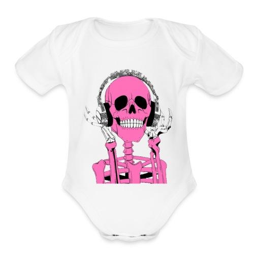 fkjkg[jkpgk - Organic Short Sleeve Baby Bodysuit