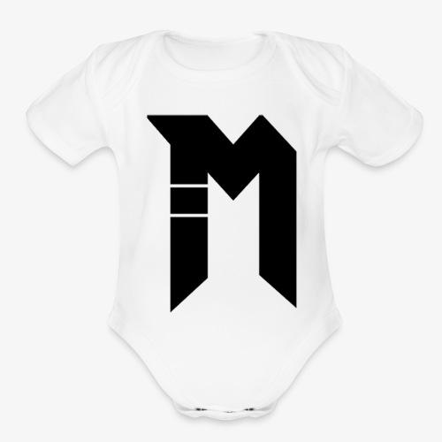 Bestsellers Logo only - Organic Short Sleeve Baby Bodysuit