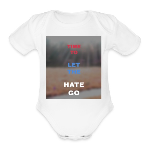 Time 2 let go - Organic Short Sleeve Baby Bodysuit