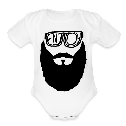 Enjoy - Organic Short Sleeve Baby Bodysuit