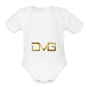 JMG Gold - Short Sleeve Baby Bodysuit