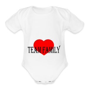 Team Family - Short Sleeve Baby Bodysuit