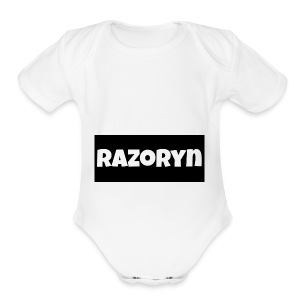 Razoryn Plain Shirt - Short Sleeve Baby Bodysuit