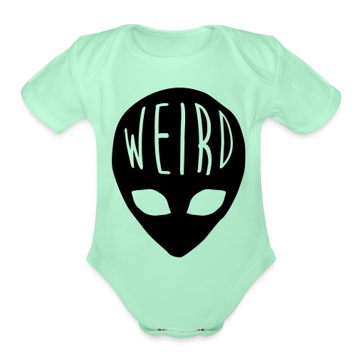 Out Of This World - Organic Short Sleeve Baby Bodysuit