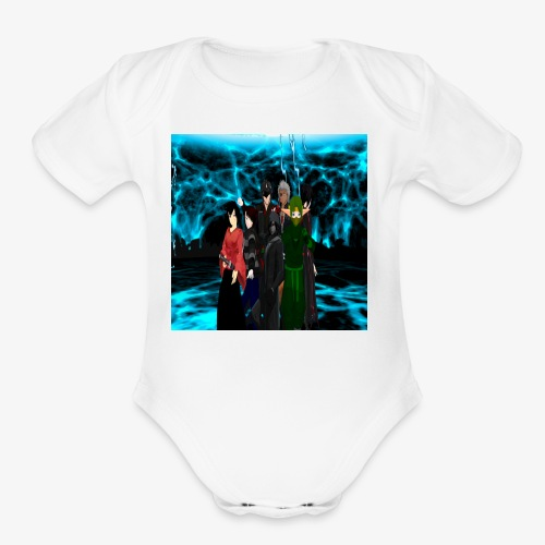 deadcast boys - Organic Short Sleeve Baby Bodysuit