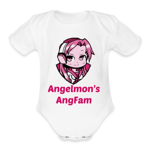 AngFam - Organic Short Sleeve Baby Bodysuit