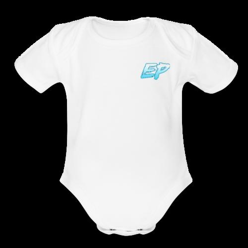 endprime logo - Organic Short Sleeve Baby Bodysuit