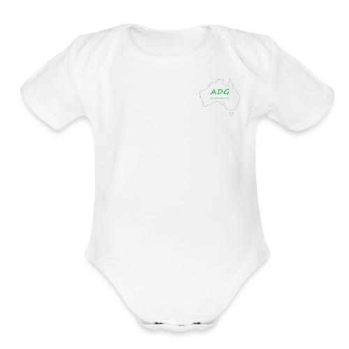 AussieDadGaming - Organic Short Sleeve Baby Bodysuit