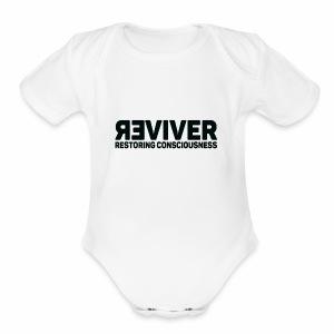 REVIVER - Short Sleeve Baby Bodysuit